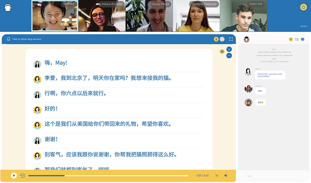 Small-Group Online Chinese Classes | That's Mandarin